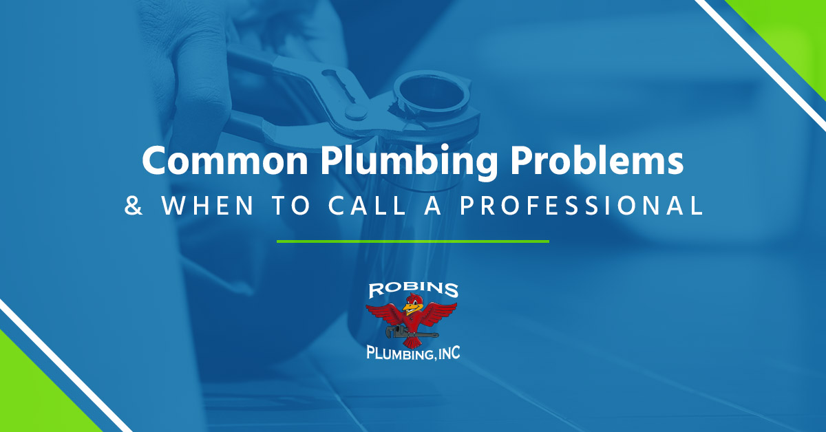 "Cover photo for blog ""Common Plumbing Problems"""