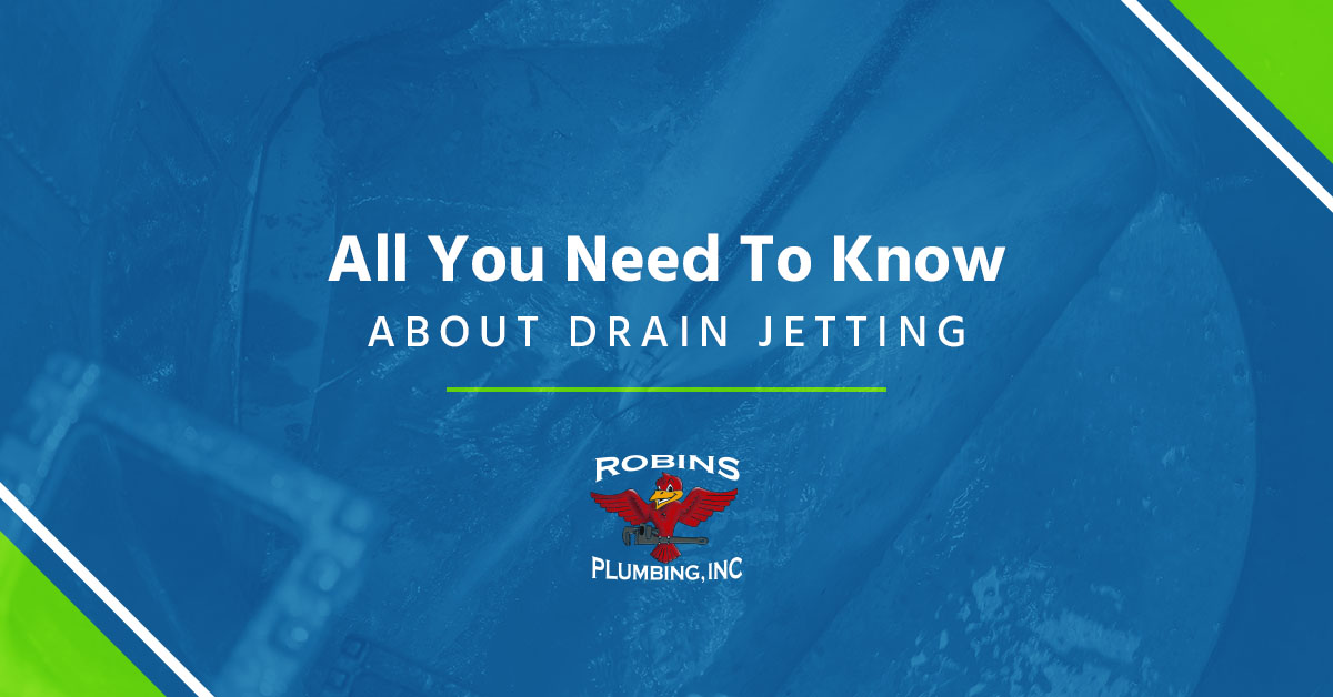 "Cover photo for blog ""All You Need to Know About Drain Jetting"""