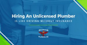 "Cover photo for blog ""Hiring an Unlicensed Plumber Is Like Driving Without Insurance"""