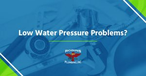 "Cover photo for blog ""Low Water Pressure Problems"""