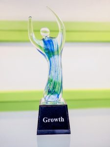 Robins Plumbing Growth Trophy