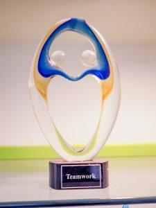 Robins Plumbing Teamwork Trophy