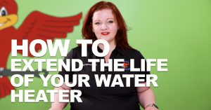 "Cover photo for blog and video ""How to Extend the Life of Your Water Heater"""