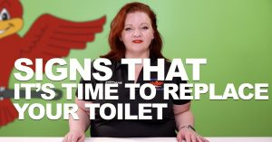 "Cover photo for blog and video ""Signs It's Time to Replace Your Toilet"""