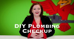"Cover photo for blog and video ""DIY Plumbing Checkup"""