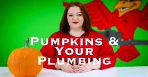 "Cover photo for ""Pumpkins and Your Plumbing"""