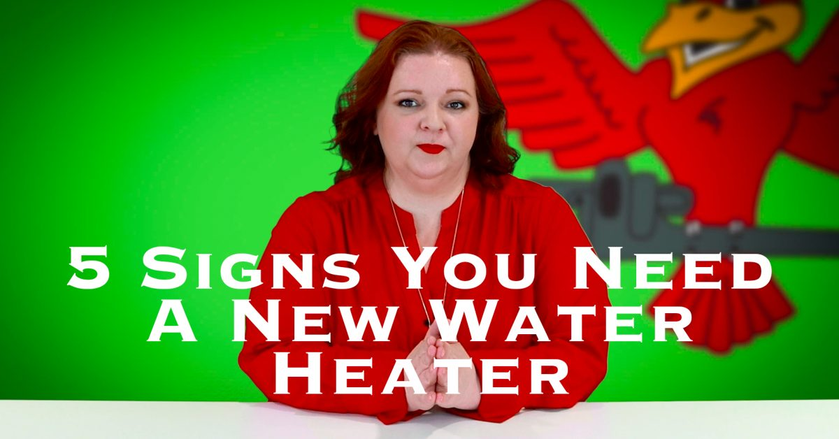 """Cover photo for video """"5 Signs You Need A New Water Heater"""""""