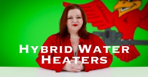 "Cover photo for blog and video ""Pros and Cons of Hybrid Water Heaters"""