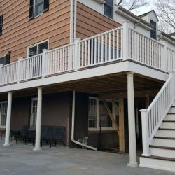 New Deck Paint on Fairfield home by Robinson's Painting & Home Improvement