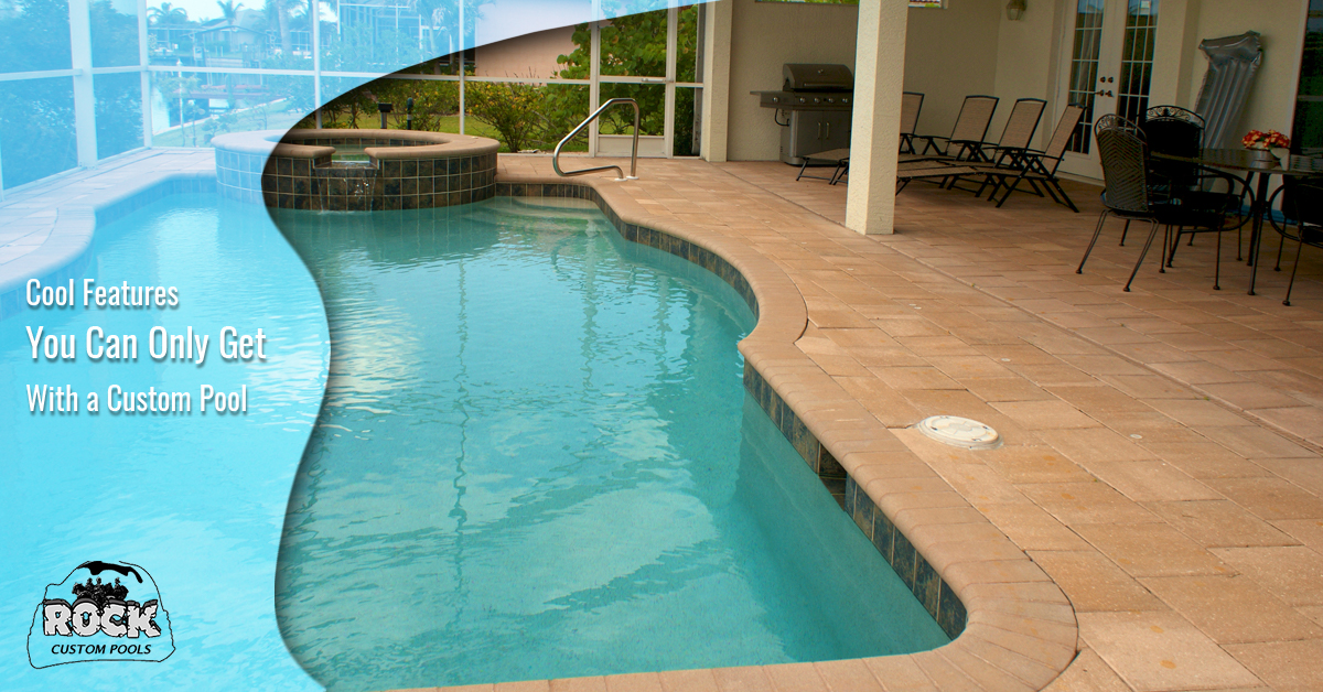 Cool Features You Can Only Get With Custom Pools Custom Pools Atlanta
