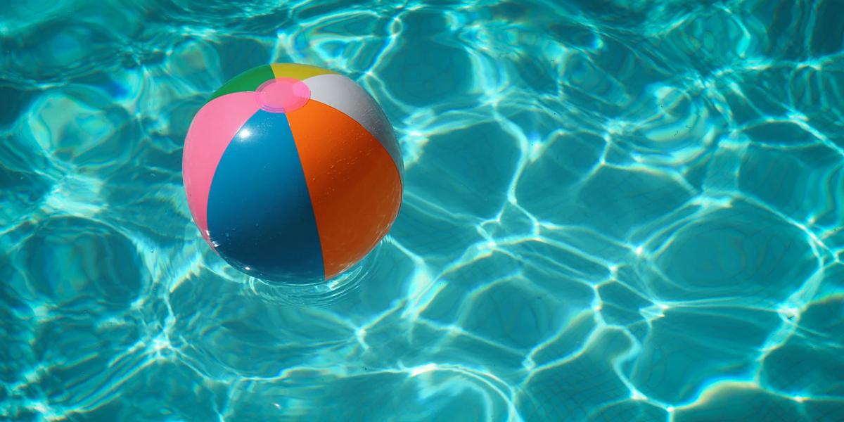 swimming pool ball