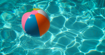 swimming pool ball