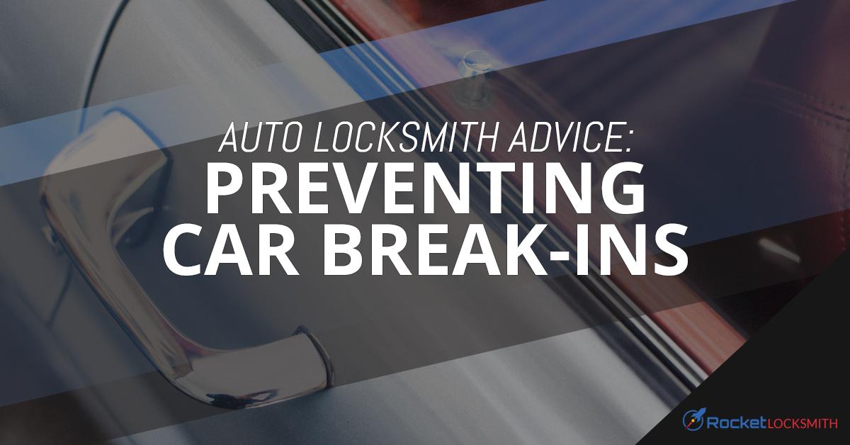 Auto Locksmith St Louis Reduce Risk Of Car Break Ins