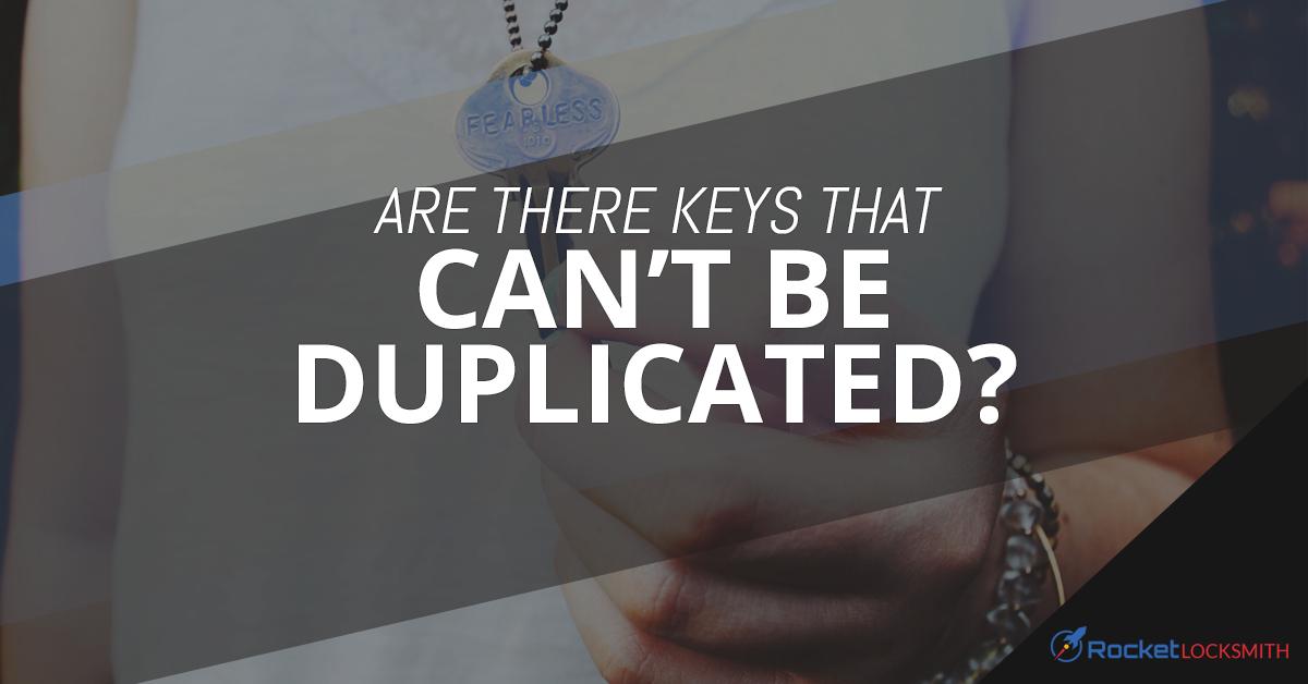 Key Cutting St Louis Hard To Copy Keys
