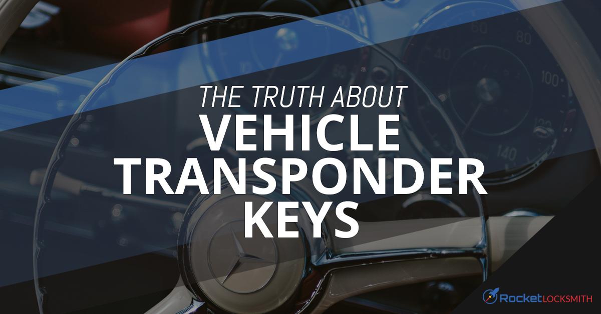 Locksmith Near Me St  Louis: How Transponder Keys Work