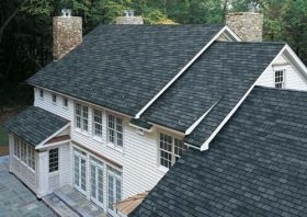 Brand New Grey Asphalt Shingle Roof