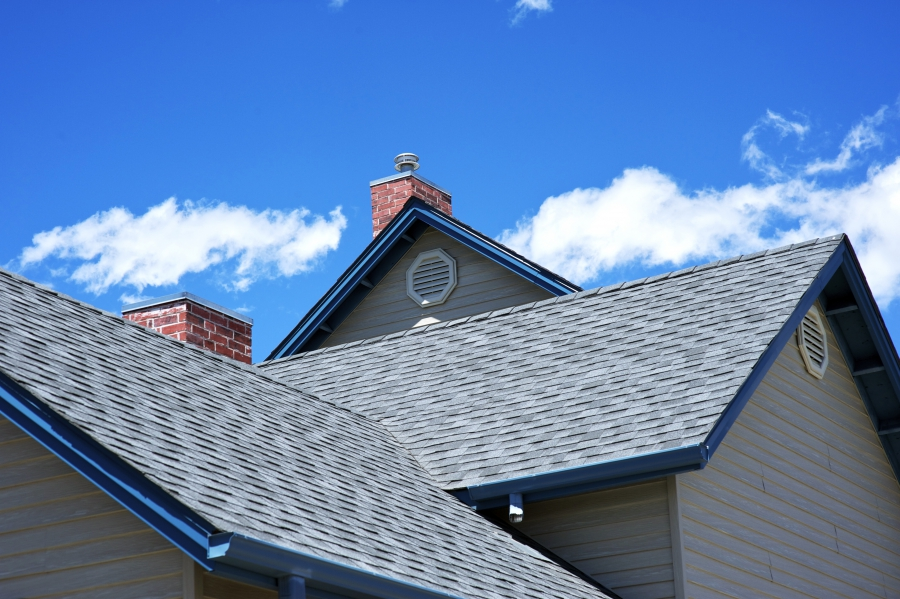 New Roofing and Blue Sky