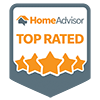 Top Rated by Home Advisor Logo