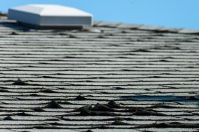 Curling Asphalt Shingles