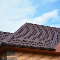 Metal Roofing With Gutters