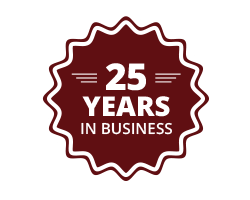 25 Years of Service Icon