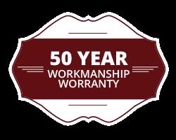 50 Year Guarantee Icon