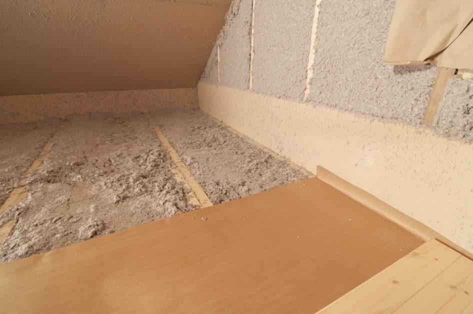 Insulation in Home Attic