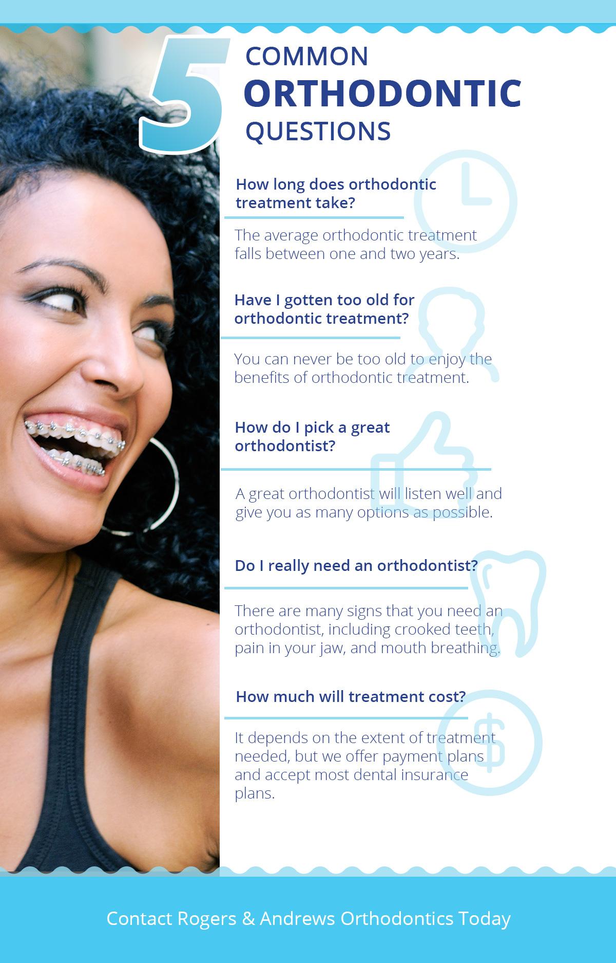 Orthodontic Treatment Thompson: 5 Common Orthodontic Questions