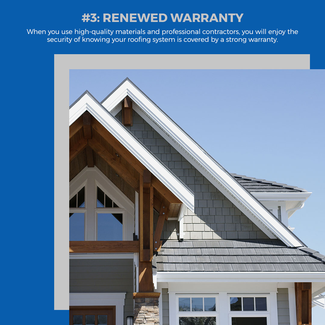 5 Reasons For A New Roof Infographic 4