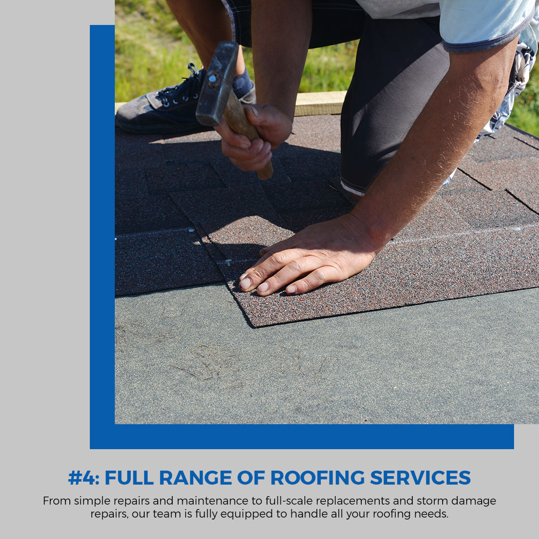 5 Reasons For A New Roof Infographic 5