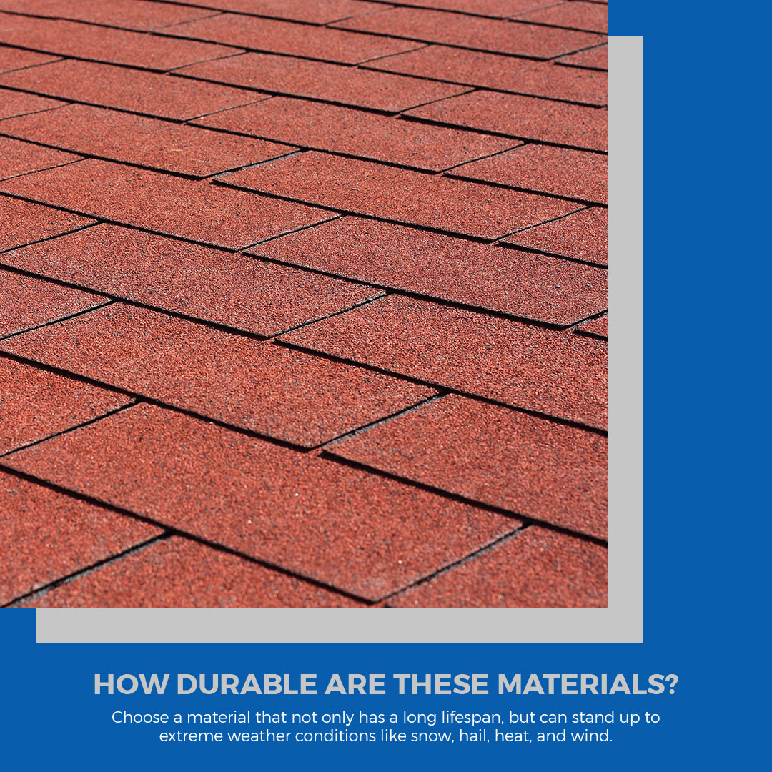 How To Choose The Right Roofing Material Infographic 2