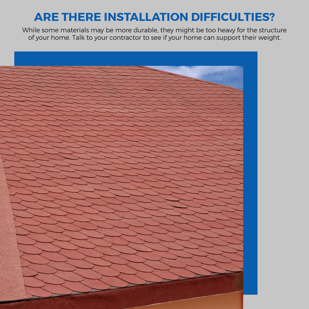 How To Choose The Right Roofing Material Infographic 5