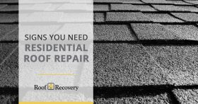 Signs You Need Residential Roof Repair