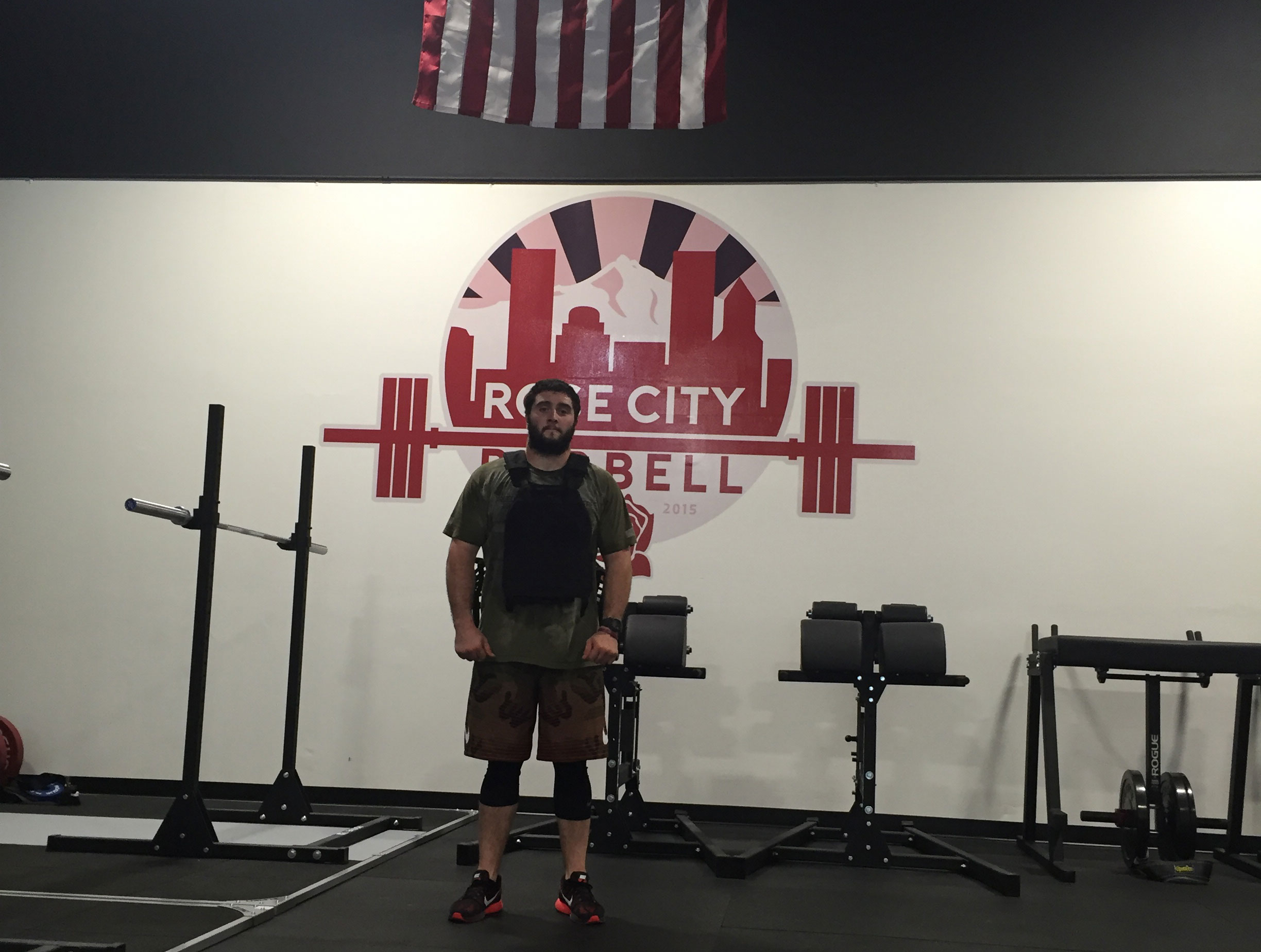Photo taken at our CrossFit Tigard facility. Devin Wells - October Athlete Of The Month | Rose City Barbell