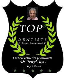 Top dentist logo for Colorado Springs dentist Dr. Joseph Rota