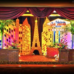 Las Vegas themed event at Royal Palace Ballrooms