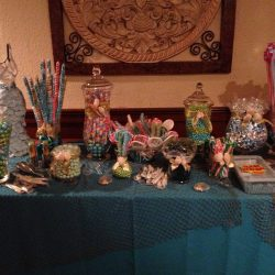 Candy table at an event at Royal Palace Ballrooms