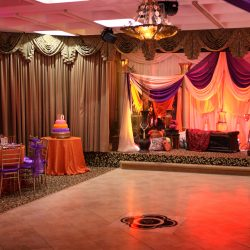 50th celebration venue at Royal Palace Ballrooms