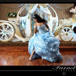Cinderella themed birthday party at Royal Palace Ballrooms