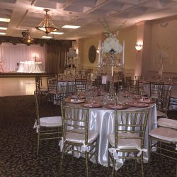 Wedding reception at Royal Palace Ballrooms