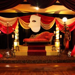 Masquerade birthday party at Royal Palace Ballrooms