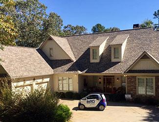 Shingle Roof Replacement in Dahlonega, GA