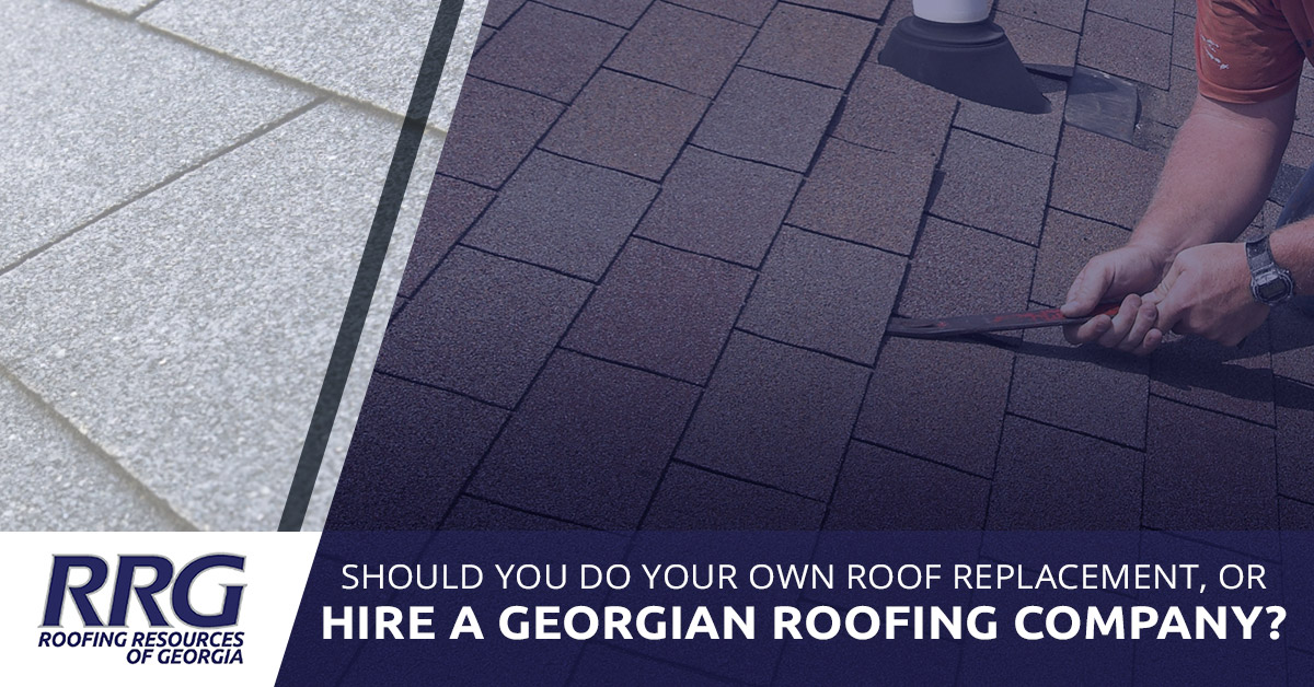 Roof Installation Georgia Why You Shouldn T Do Roofing