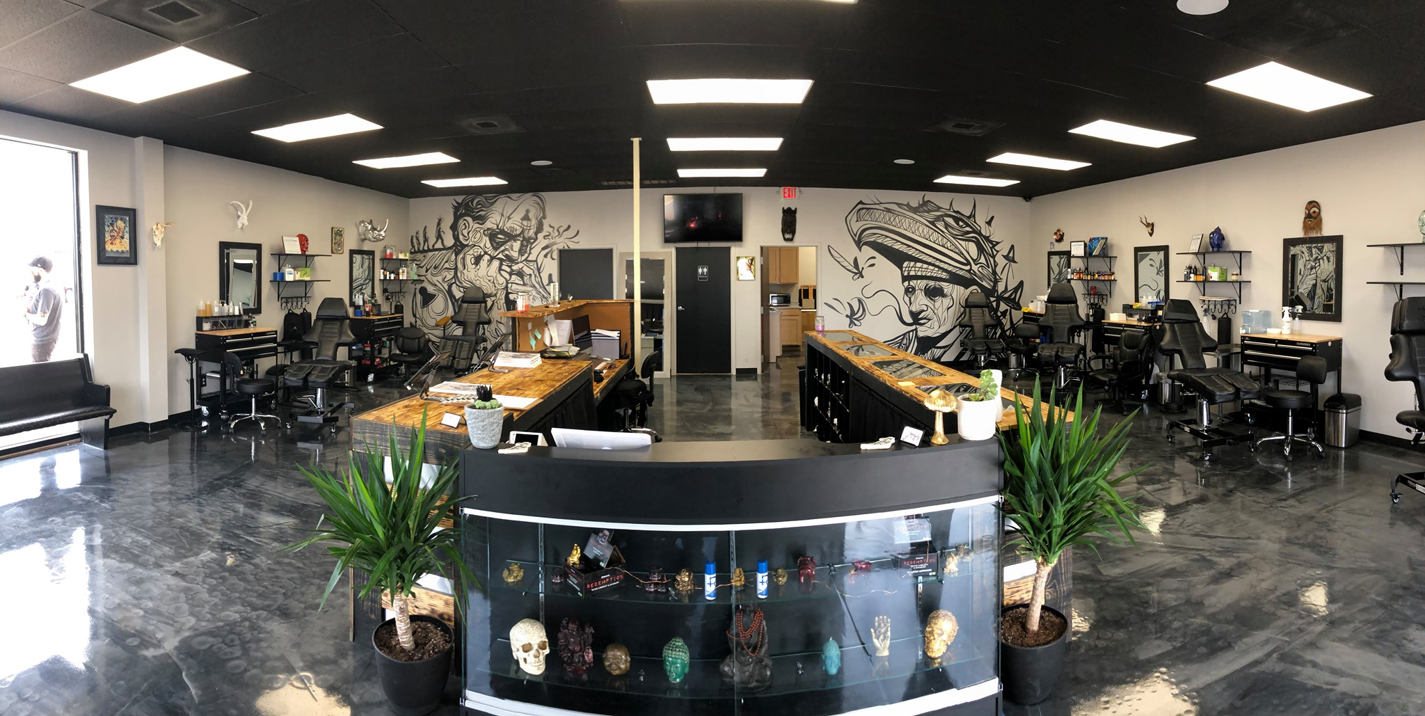 Inside the Sacred Raven Tattoo Shop