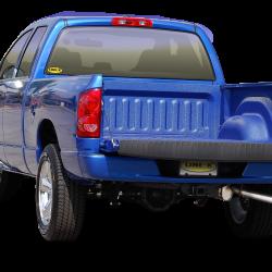 Blue LINE-X truck bed liner