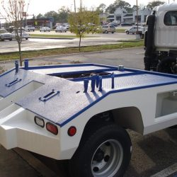 LINE-X tow truck protection