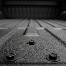 closeup of LINE-X bed liner