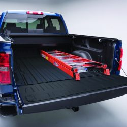 Truck bed liner from LINE-X