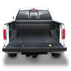Truck bed liner made by LINE-X
