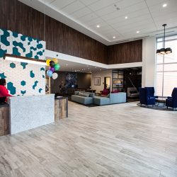 Renovated Hotel Reception Area - Sage Construction